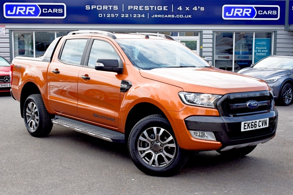 used Ford Ranger used WILDTRAK 4X4 DCB TDCI in chorley-lancashire