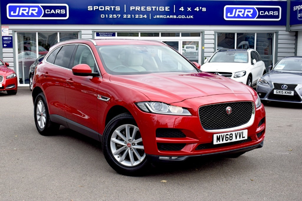 used Jaguar F-Pace PRESTIGE AWD USED in chorley-lancashire