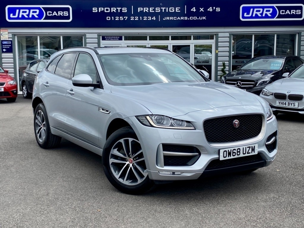 used Jaguar F-Pace R-SPORT AWD USED in chorley-lancashire