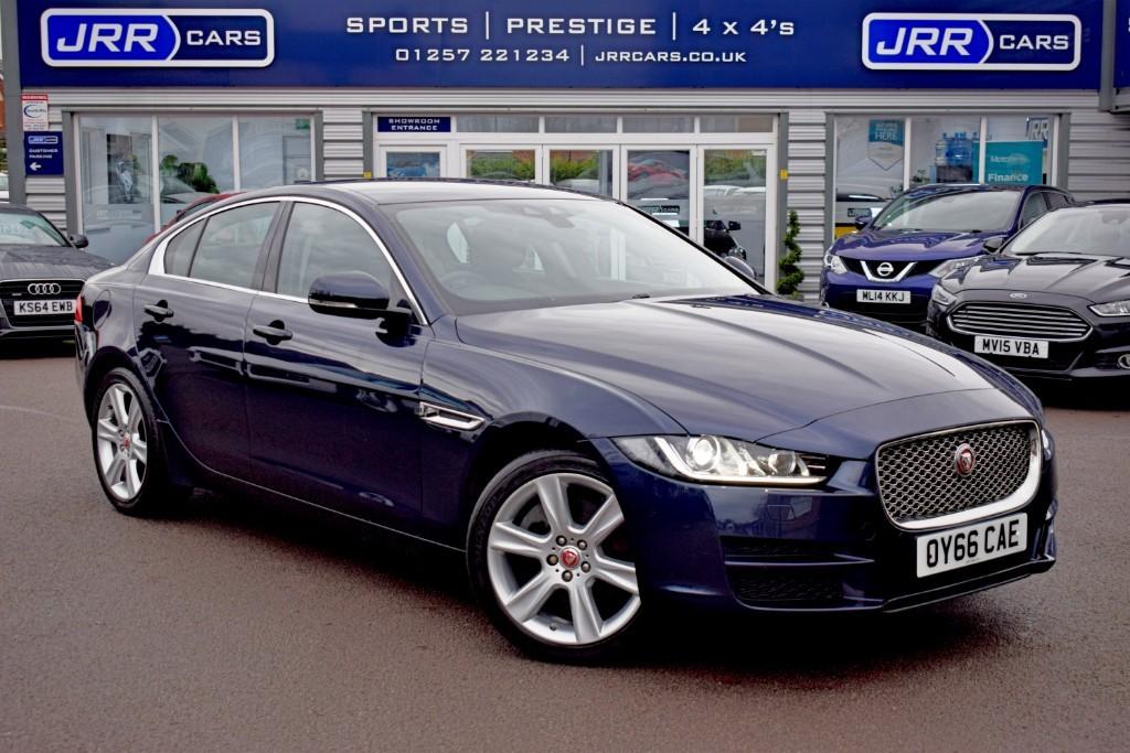 used Jaguar XE USED PORTFOLIO AWD in preston-lancashire