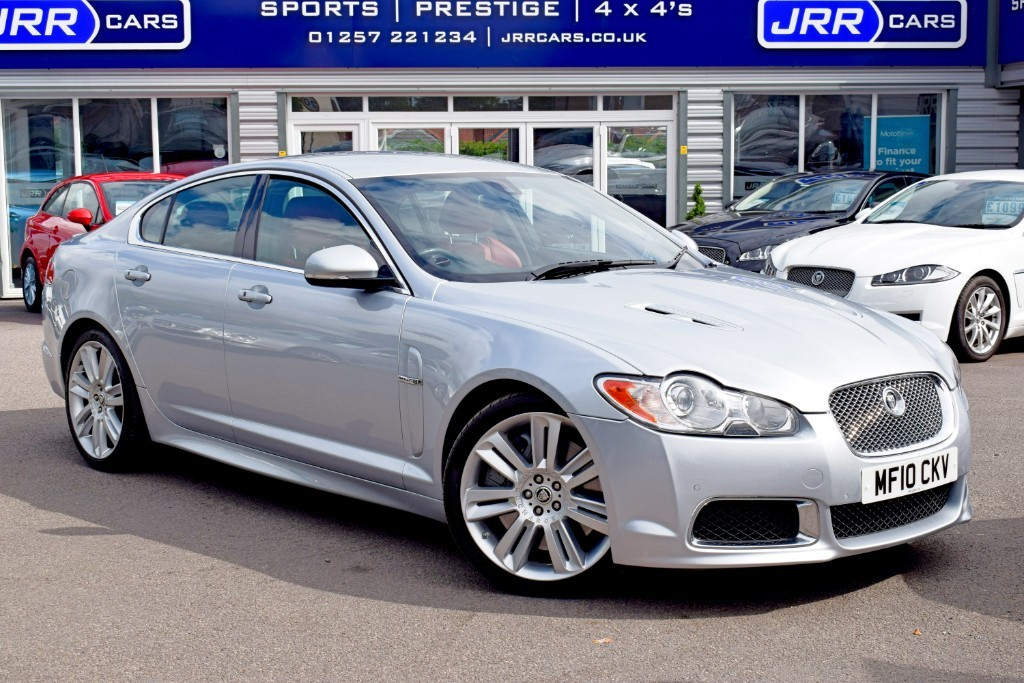 used Jaguar XF V8 R SUPERCHARGED in preston-lancashire