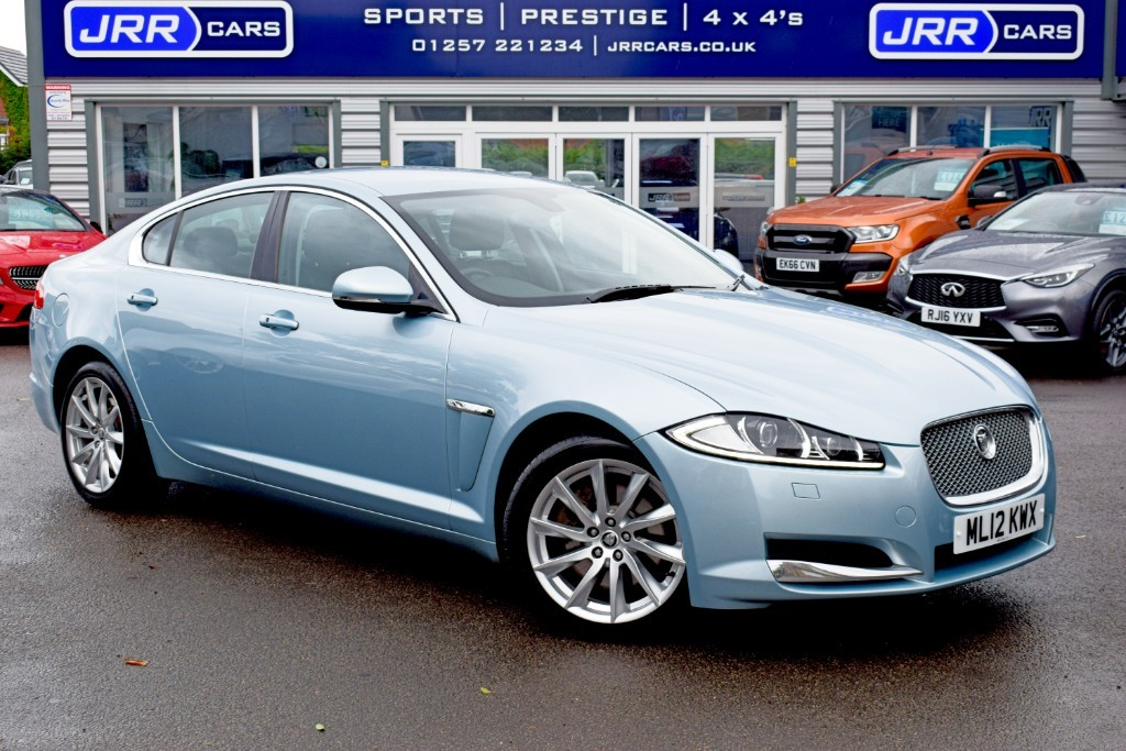 used Jaguar XF V6 PREMIUM LUXURY in preston-lancashire