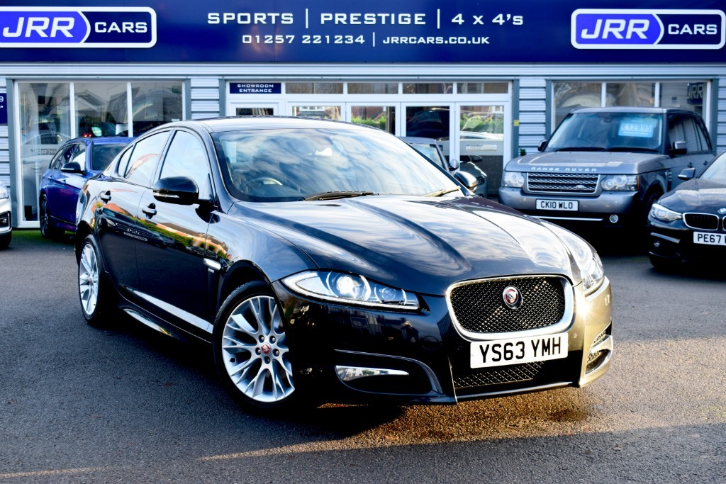 used Jaguar XF D R-SPORT USED in chorley-lancashire