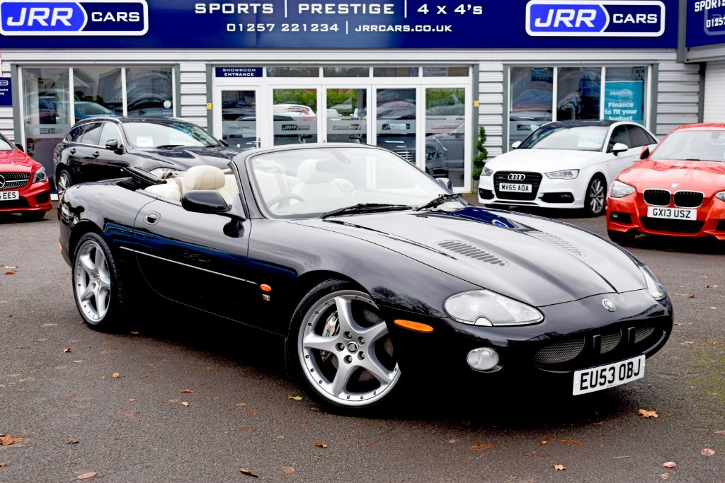 used Jaguar XK8 USED XKR CONVERTIBLE in preston-lancashire