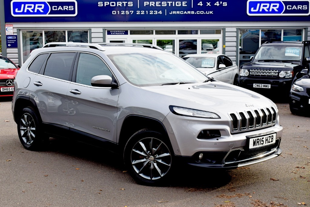 used Jeep Cherokee USED M-JET LIMITED in preston-lancashire