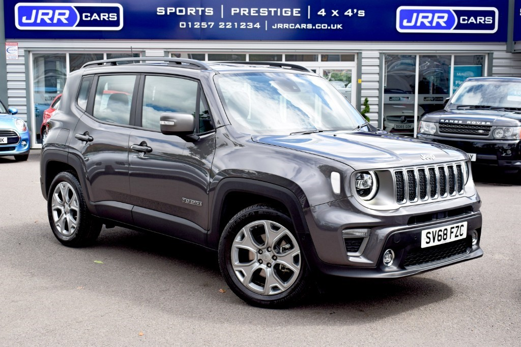 used Jeep Renegade LIMITED in preston-lancashire
