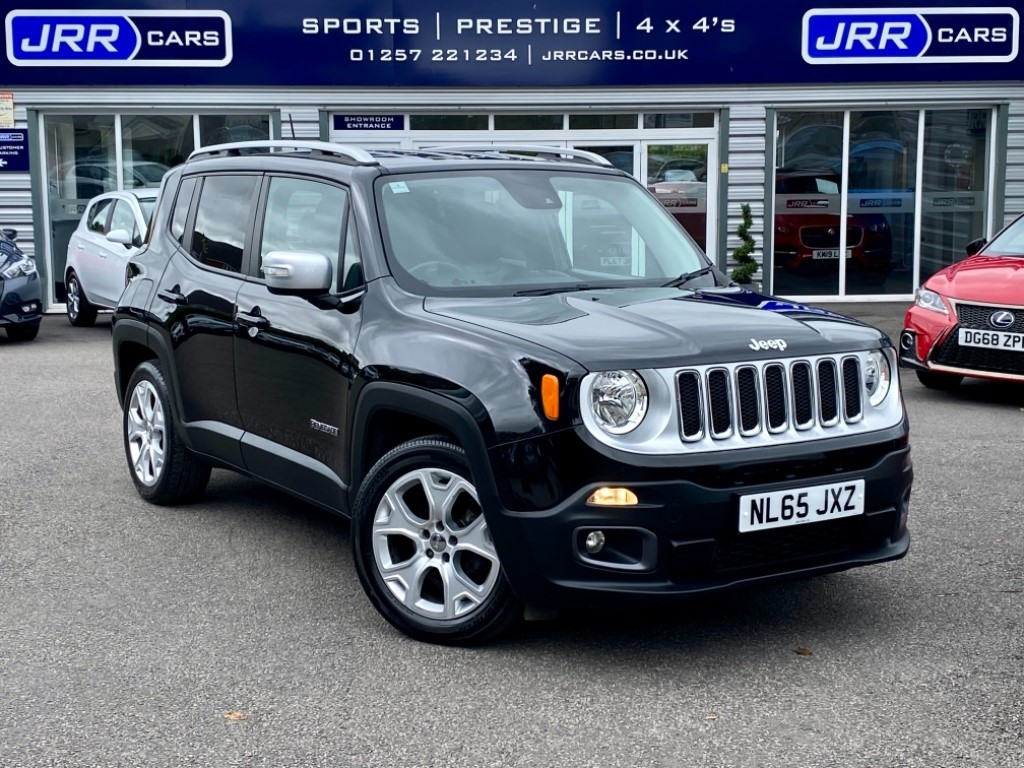 used Jeep Renegade M-JET LIMITED USED in chorley-lancashire