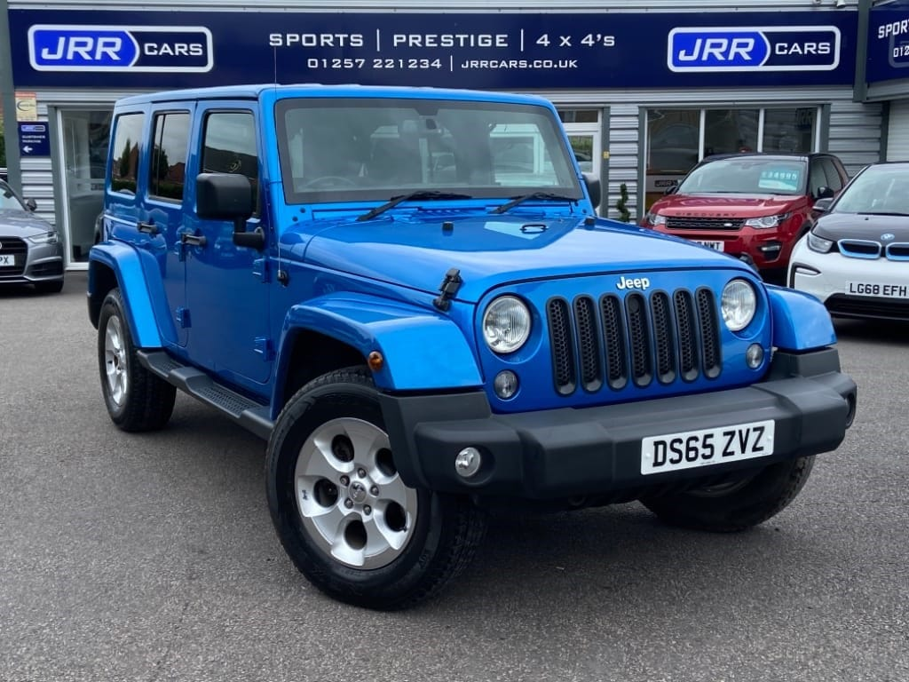 used Jeep Wrangler CRD OVERLAND UNLIMITED USED in chorley-lancashire