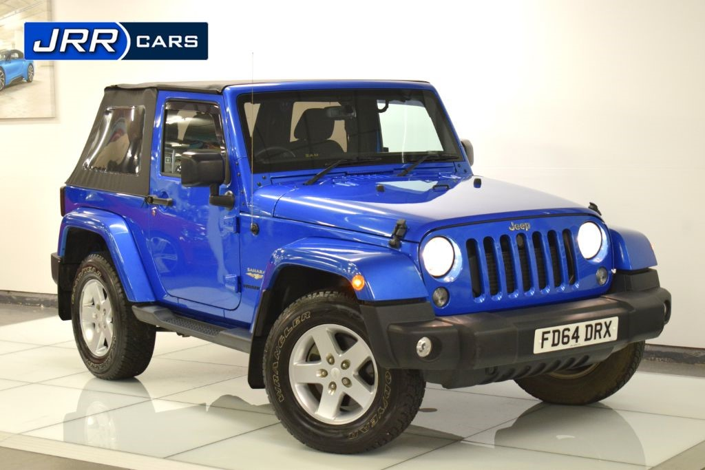 used Jeep Wrangler SAHARA CRD in preston-lancashire