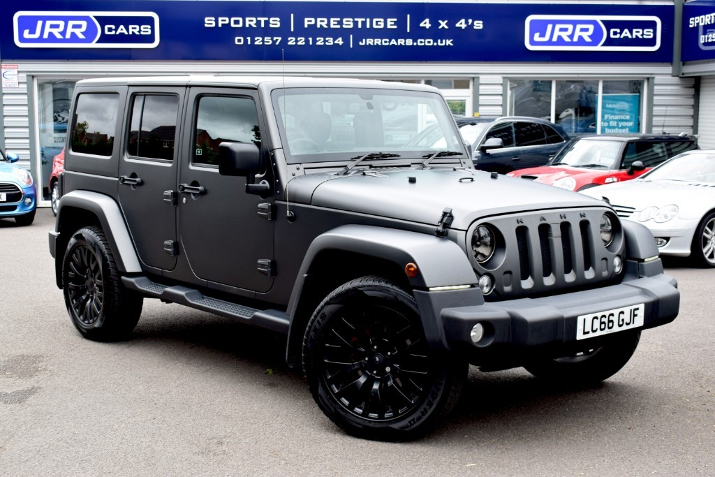 used Jeep Wrangler USED CRD OVERLAND UNLIMITED KAHN CHELSEA TRUCK CONVERSION in preston-lancashire