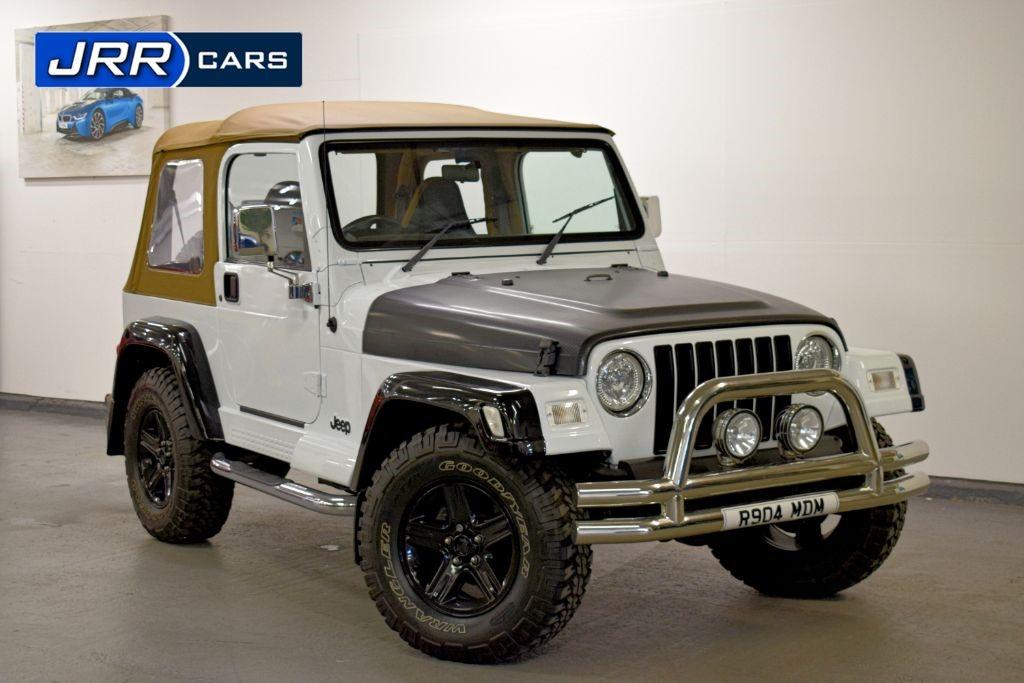 used Jeep Wrangler SAHARA in preston-lancashire