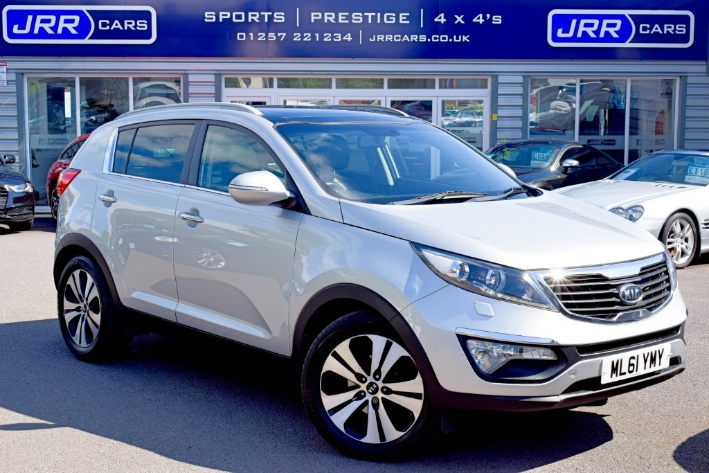 used Kia Sportage CRDI 3 in preston-lancashire