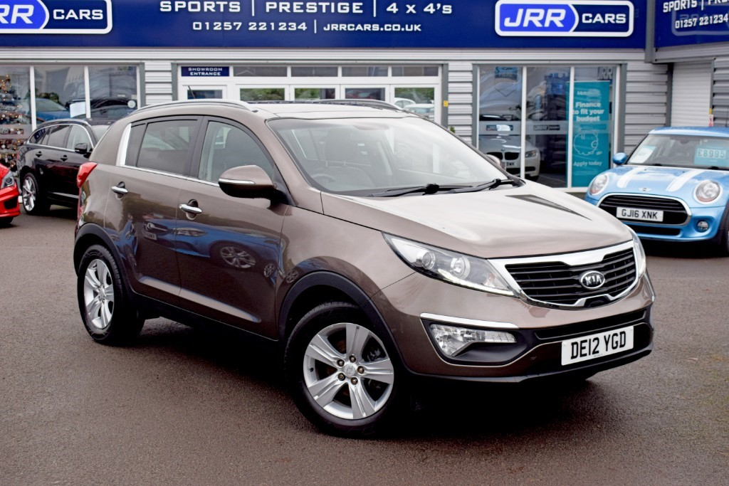 used Kia Sportage USED 2 in preston-lancashire