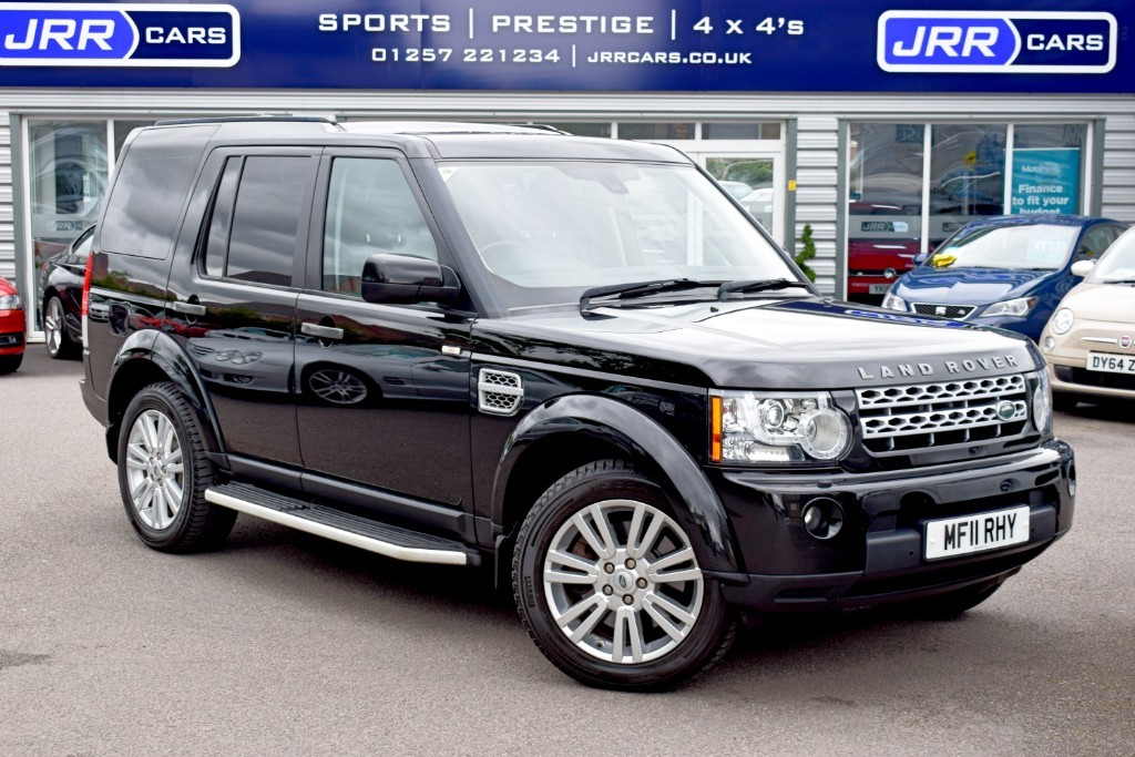 used Land Rover Discovery TDV6 HSE in preston-lancashire