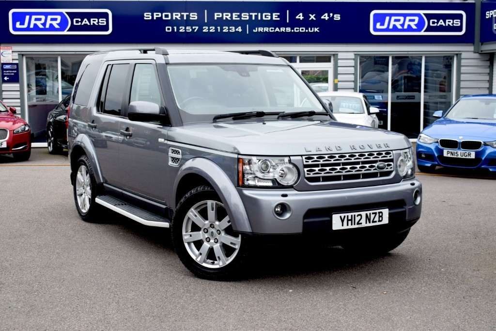used Land Rover Discovery SDV6 GS USED in chorley-lancashire