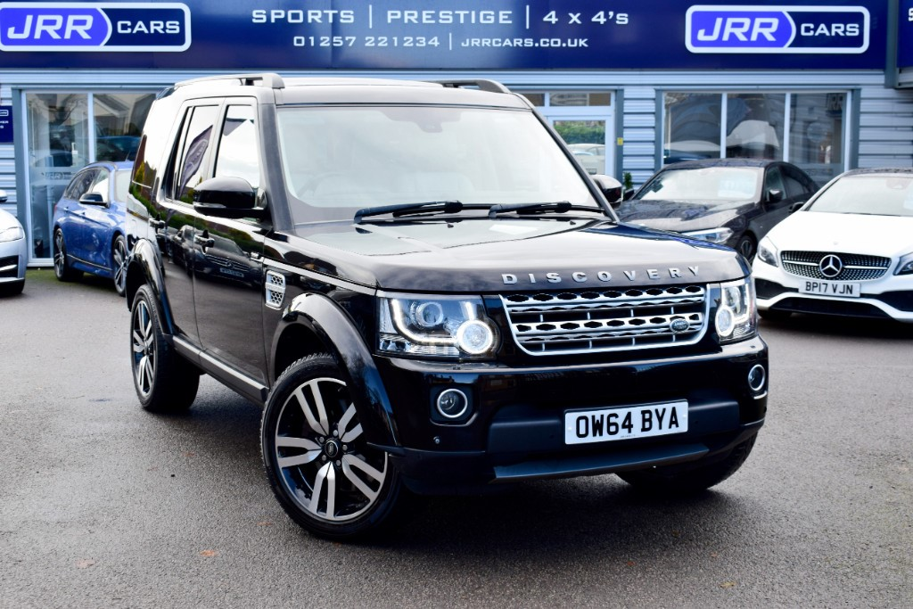 used Land Rover Discovery SDV6 HSE LUXURY USED in chorley-lancashire