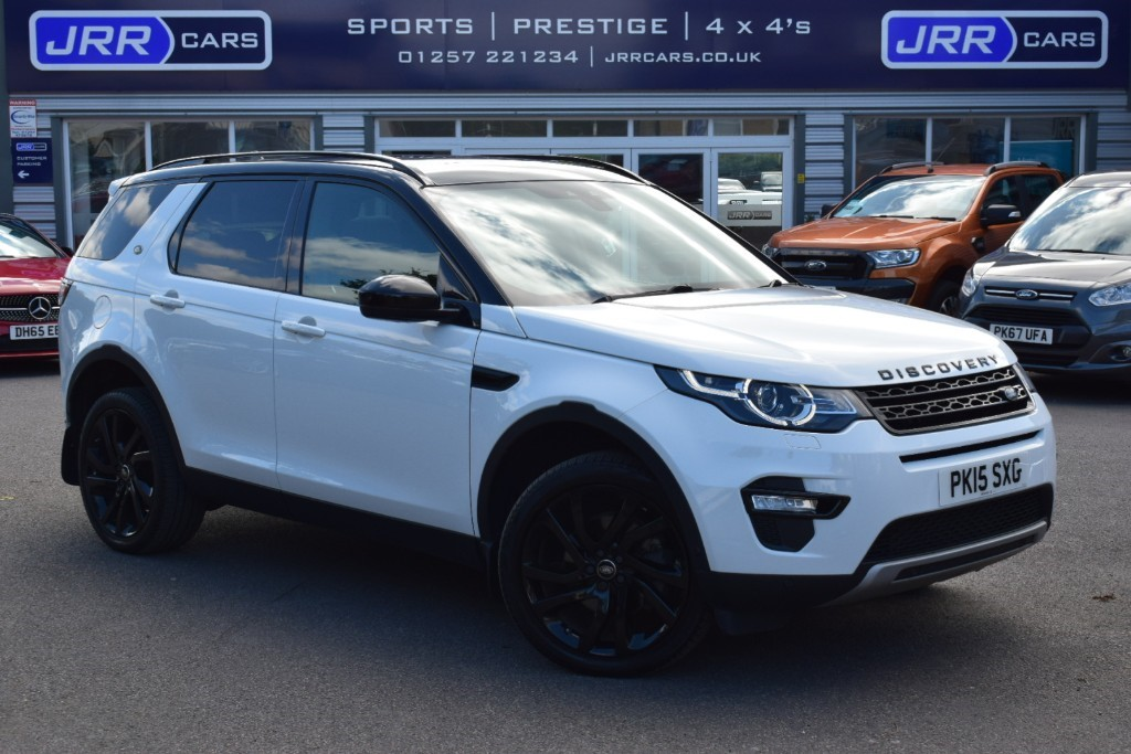 used Land Rover Discovery Sport USED SD4 HSE LUXURY in preston-lancashire