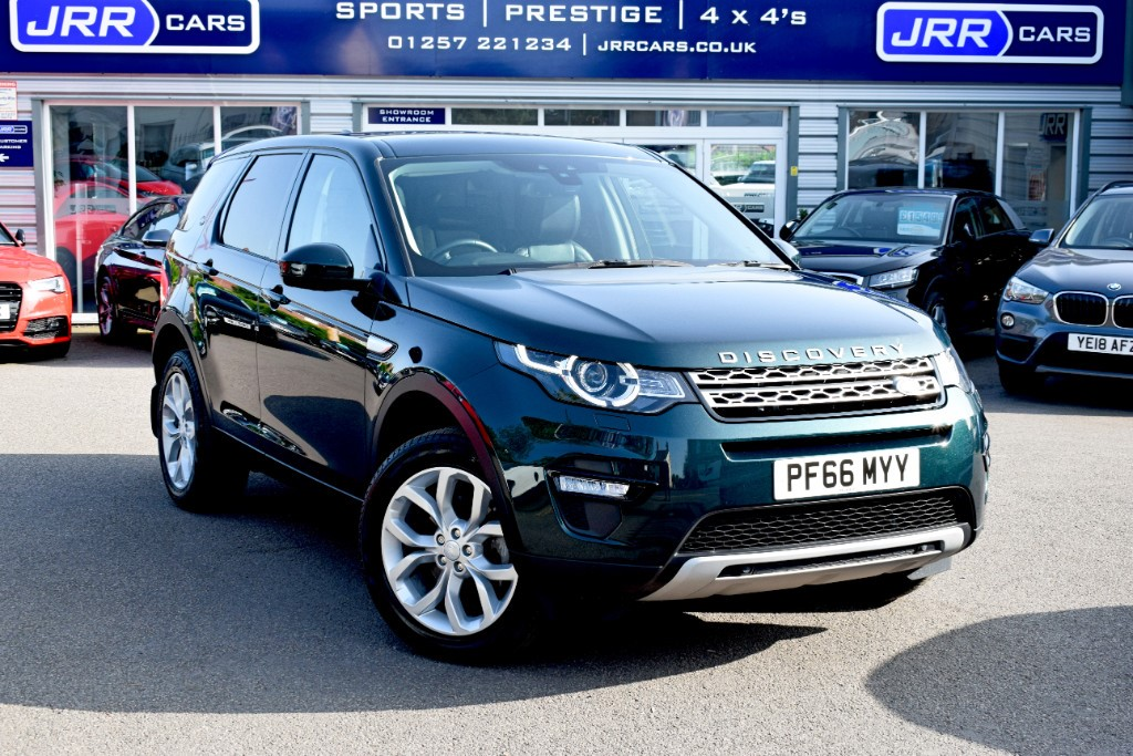 used Land Rover Discovery Sport TD4 HSE in chorley-lancashire