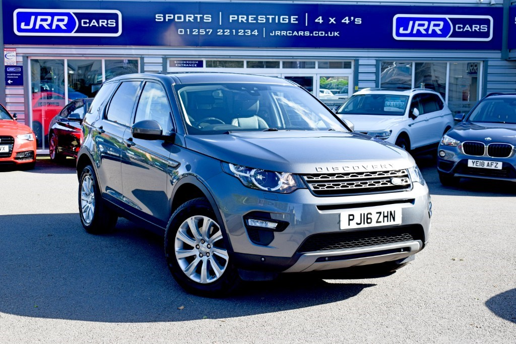 used Land Rover Discovery Sport TD4 SE TECH USED in chorley-lancashire