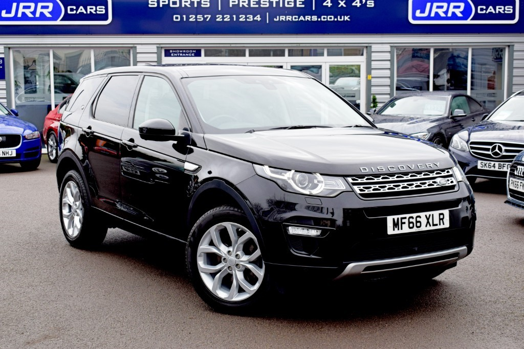 used Land Rover Discovery Sport USED TD4 HSE in chorley-lancashire