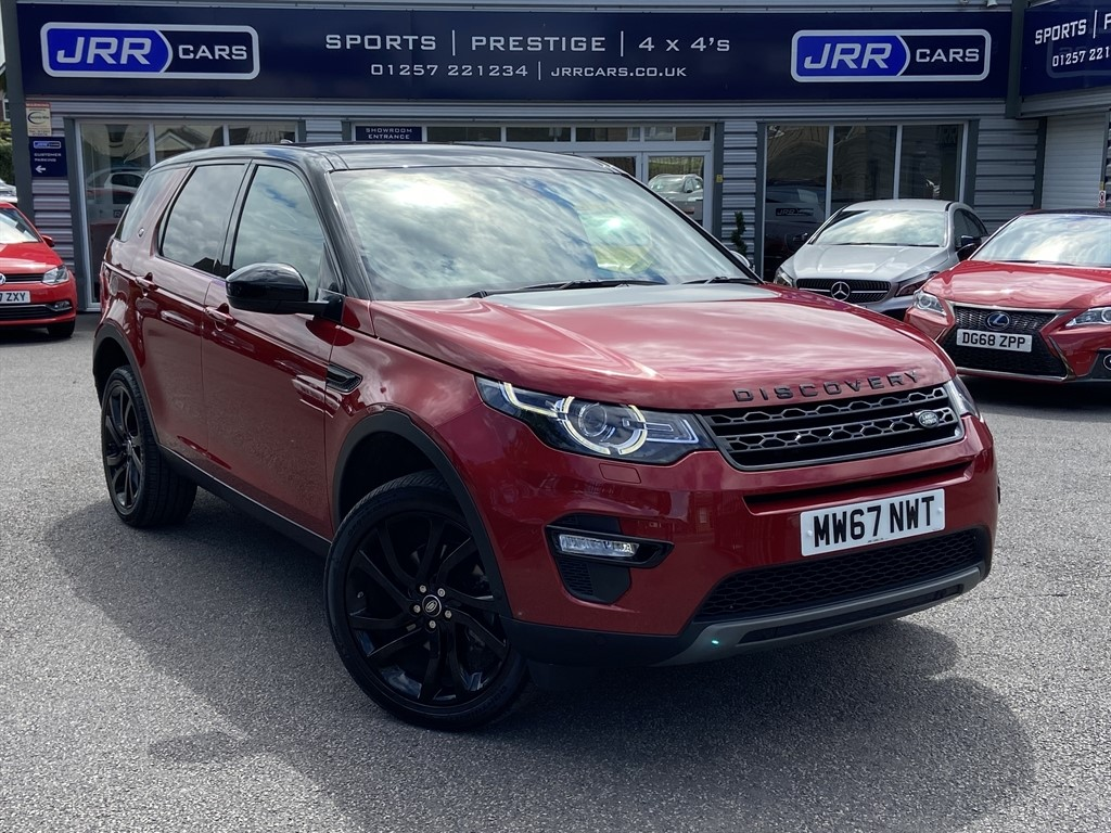 used Land Rover Discovery Sport TD4 HSE LUXURY USED in chorley-lancashire