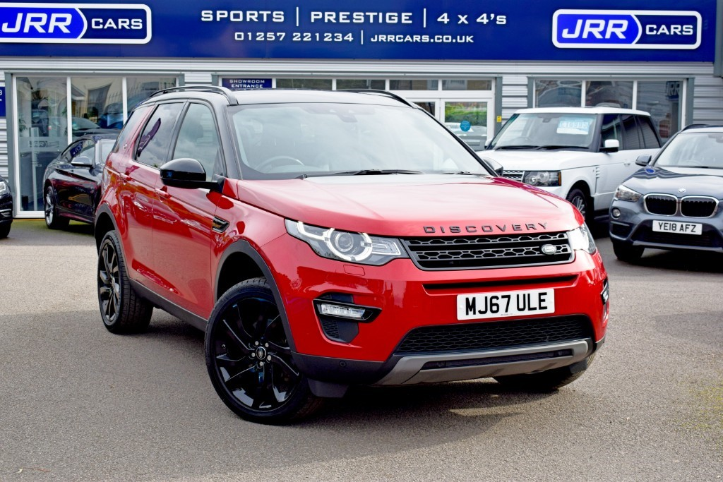 used Land Rover Discovery Sport TD4 HSE BLACK USED in chorley-lancashire