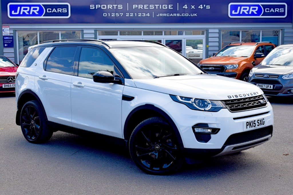 used Land Rover Discovery Sport USED SD4 HSE LUXURY in chorley-lancashire