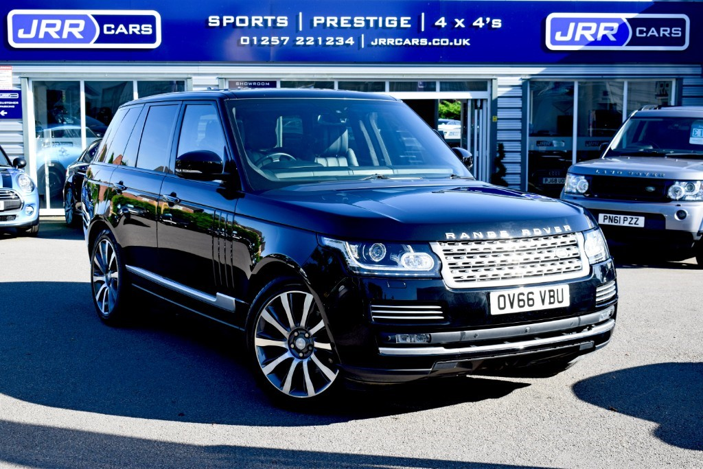 used Land Rover Range Rover SDV8 AUTOBIOGRAPHY USED in chorley-lancashire