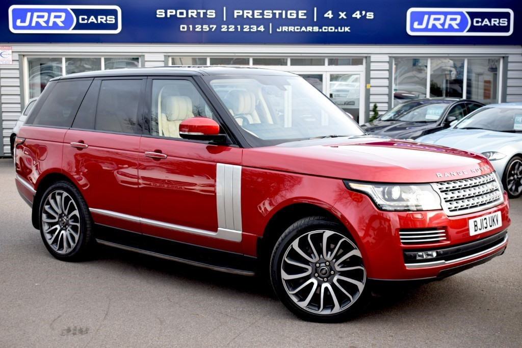 used Land Rover Range Rover SDV8 AUTOBIOGRAPHY in preston-lancashire