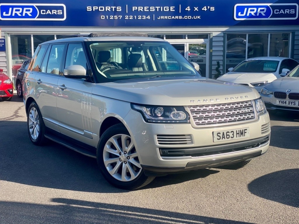 used Land Rover Range Rover SDV8 VOGUE USED in chorley-lancashire