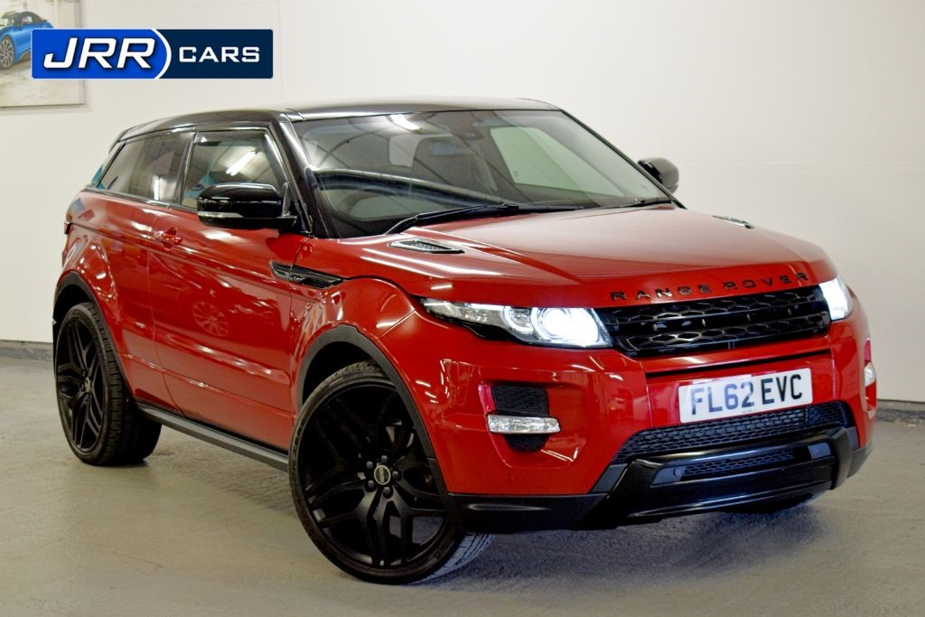 used Land Rover Range Rover Evoque SD4 DYNAMIC in preston-lancashire