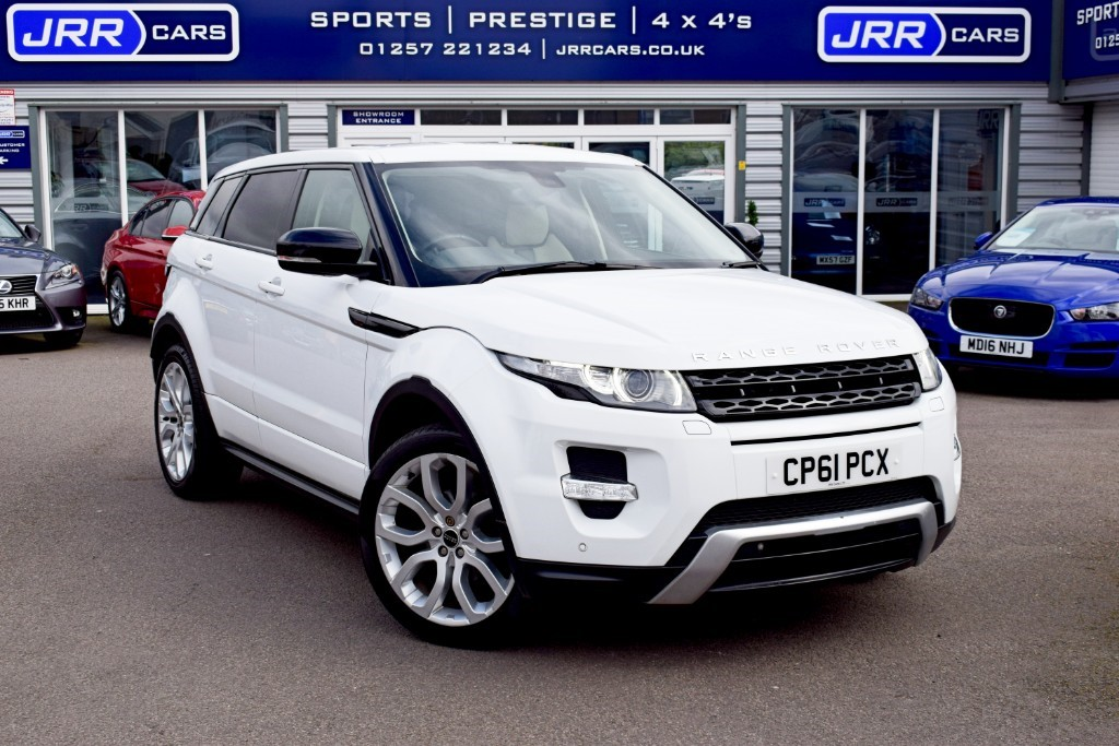 used Land Rover Range Rover Evoque SD4 DYNAMIC in chorley-lancashire