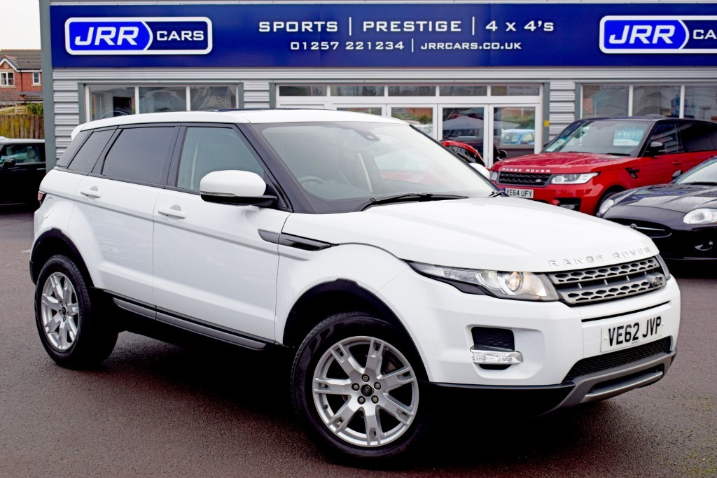 used Land Rover Range Rover Evoque SD4 PURE in preston-lancashire
