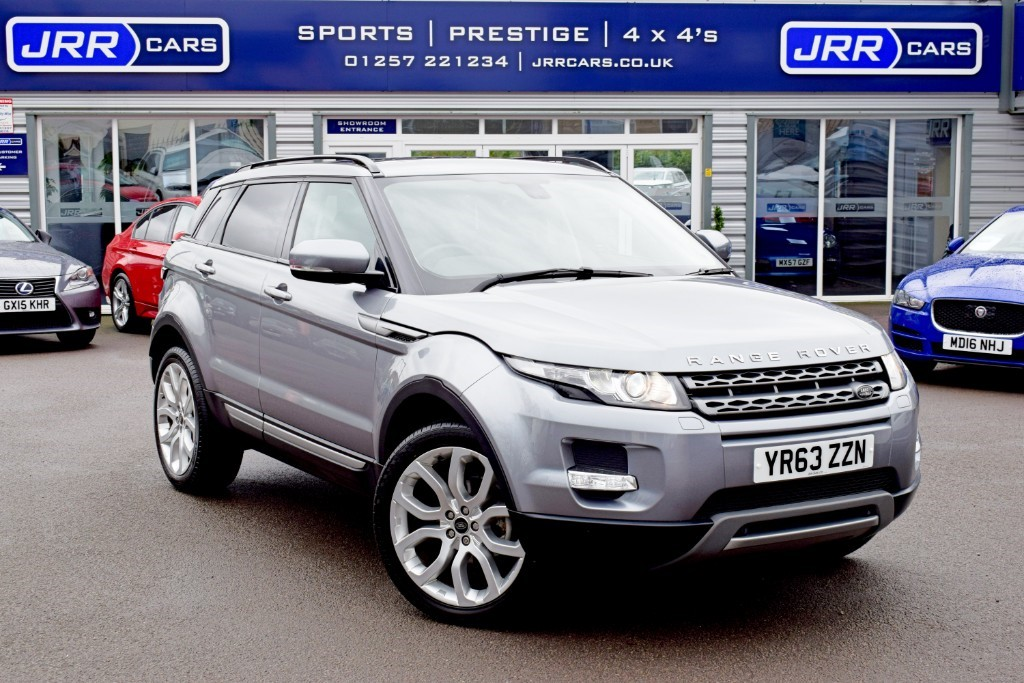 used Land Rover Range Rover Evoque SD4 PURE TECH USED in chorley-lancashire