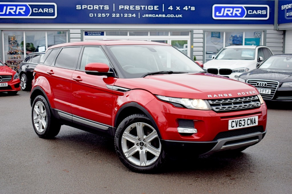used Land Rover Range Rover Evoque USED SD4 PURE TECH in chorley-lancashire