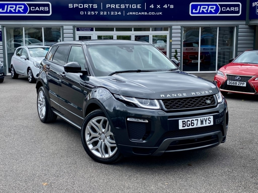 used Land Rover Range Rover Evoque TD4 HSE DYNAMIC LUX USED in chorley-lancashire