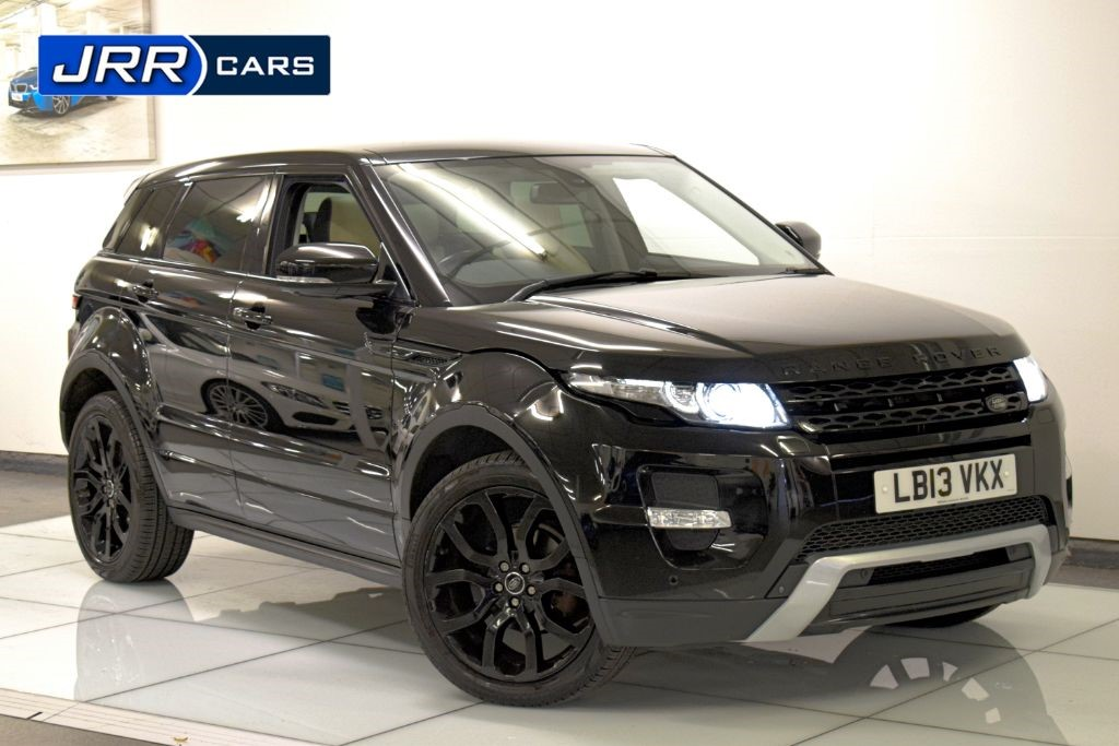 used Land Rover Range Rover Evoque SD4 DYNAMIC LUX in preston-lancashire