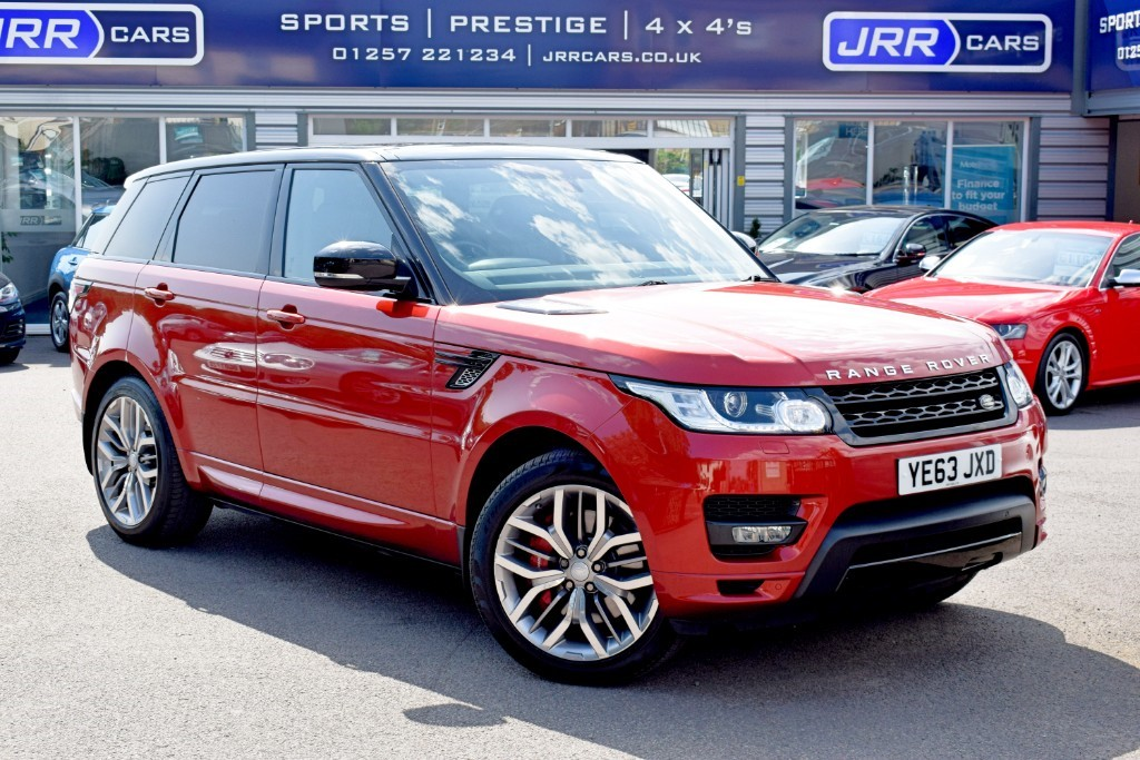 used Land Rover Range Rover Sport used SDV6 AUTOBIOGRAPHY DYNAMIC in preston-lancashire