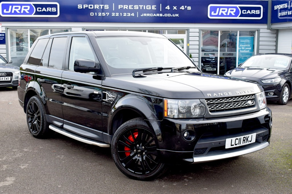 used Land Rover Range Rover Sport V8 Supercharged HSE in preston-lancashire
