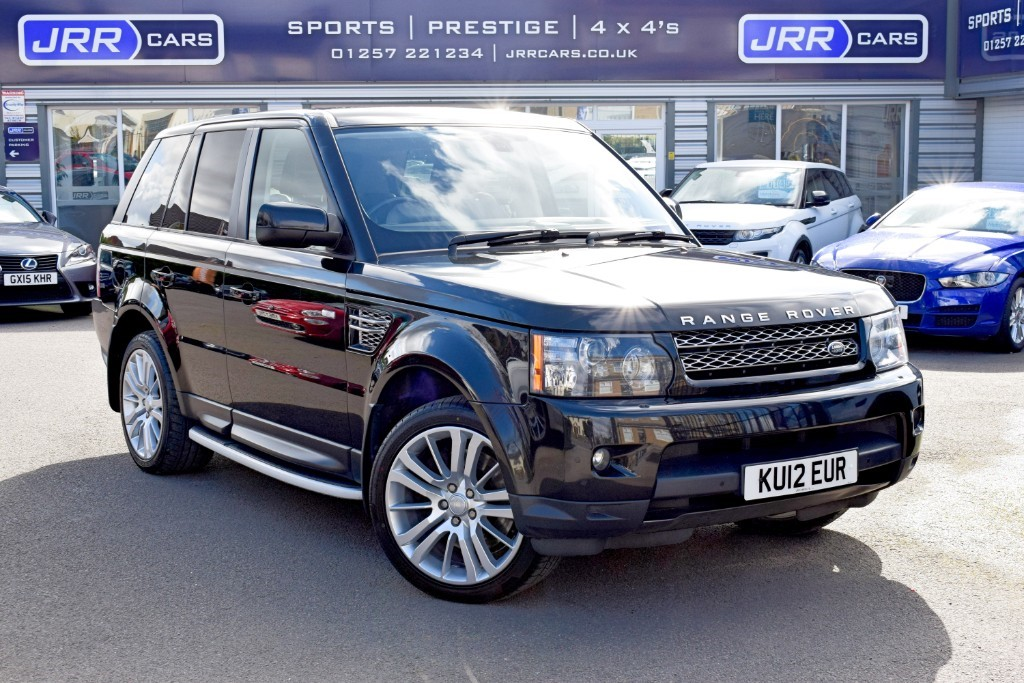 used Land Rover Range Rover Sport SDV6 HSE LUXURY USED in chorley-lancashire
