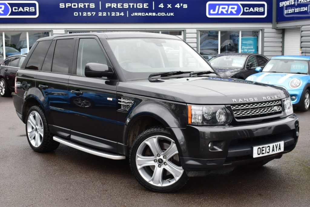 used Land Rover Range Rover Sport USED SDV6 HSE BLACK in chorley-lancashire