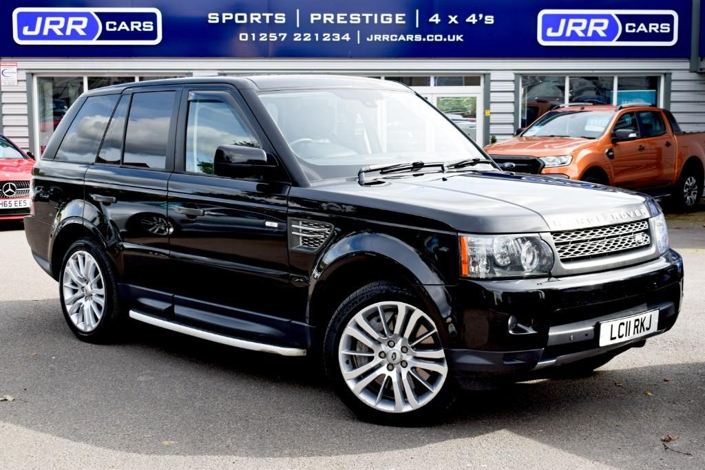 used Land Rover Range Rover Sport V8 HSE in preston-lancashire