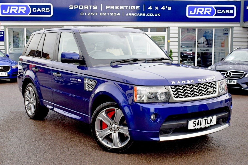 used Land Rover Range Rover Sport USED V8 AUTOBIOGRAPHY SPORT in chorley-lancashire