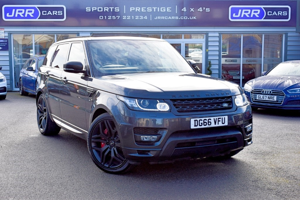 used Land Rover Range Rover Sport SDV6 AUTOBIOGRAPHY DYNAMIC USED in chorley-lancashire