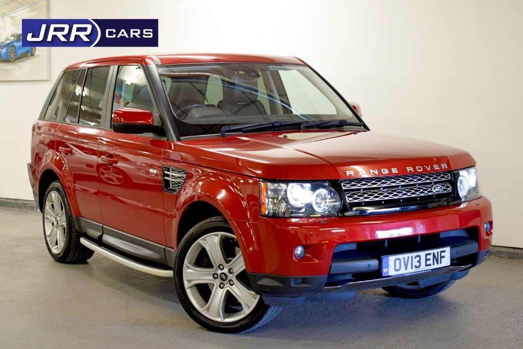 used Land Rover Range Rover Sport SDV6 HSE BLACK in preston-lancashire