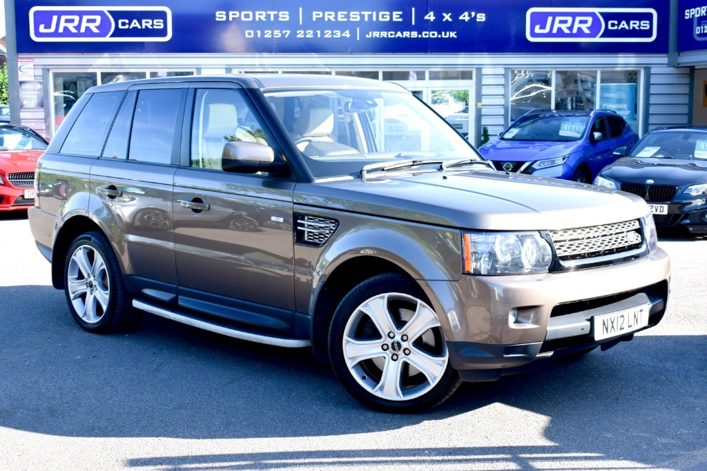 used Land Rover Range Rover Sport SDV6 HSE LUXURY in preston-lancashire