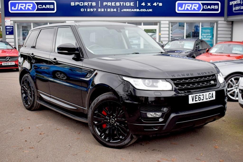 used Land Rover Range Rover Sport SDV6 HSE DYNAMIC in preston-lancashire
