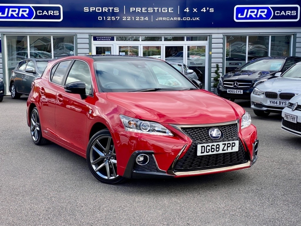 used Lexus CT 200h 200H F SPORT USED in chorley-lancashire