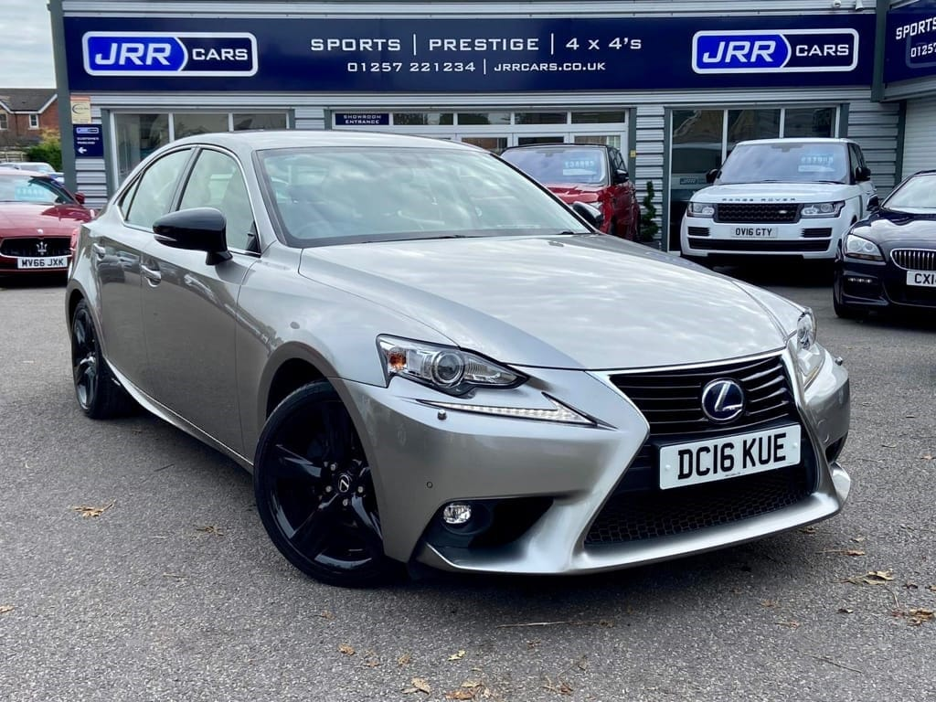used Lexus IS 300h 300H SPORT USED in chorley-lancashire