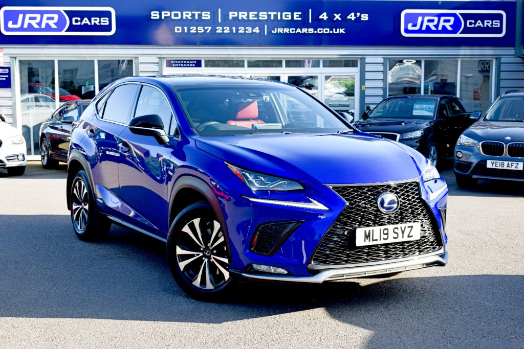 used Lexus NX 300h 300H F SPORT USED in chorley-lancashire